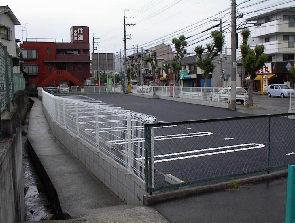 某企業 宝塚市 駐車場整備工事