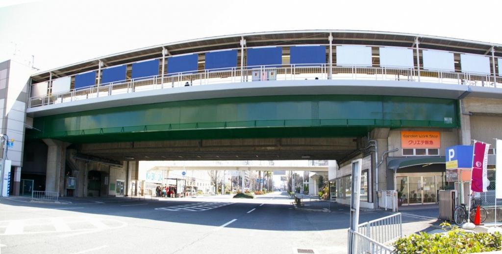 某私鉄 高架橋塗装