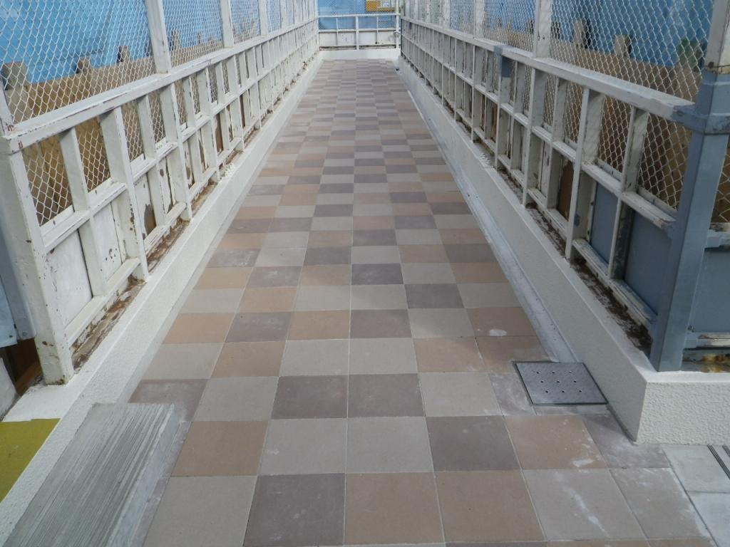 某私鉄 跨線橋補修工事
