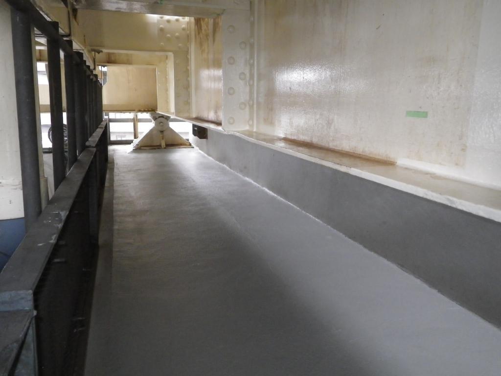 某私鉄 高架橋断面補修・表面保護(ハードロック)