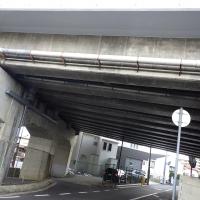 某私鉄 高架橋断面補修・表面保護(スケルトン)