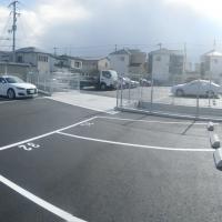 宝塚市 自動車販売店駐車場造成舗装工事