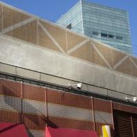 某私鉄 既設高欄コンクリート壁剥落補修