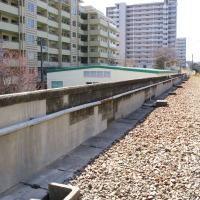 某私鉄 高架橋コンクリート高欄断面修復