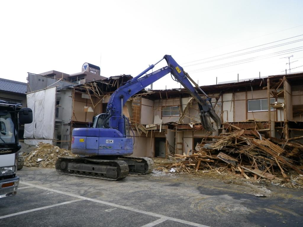 尼崎市武庫之荘 某不動産会社元請 共同住宅解体
