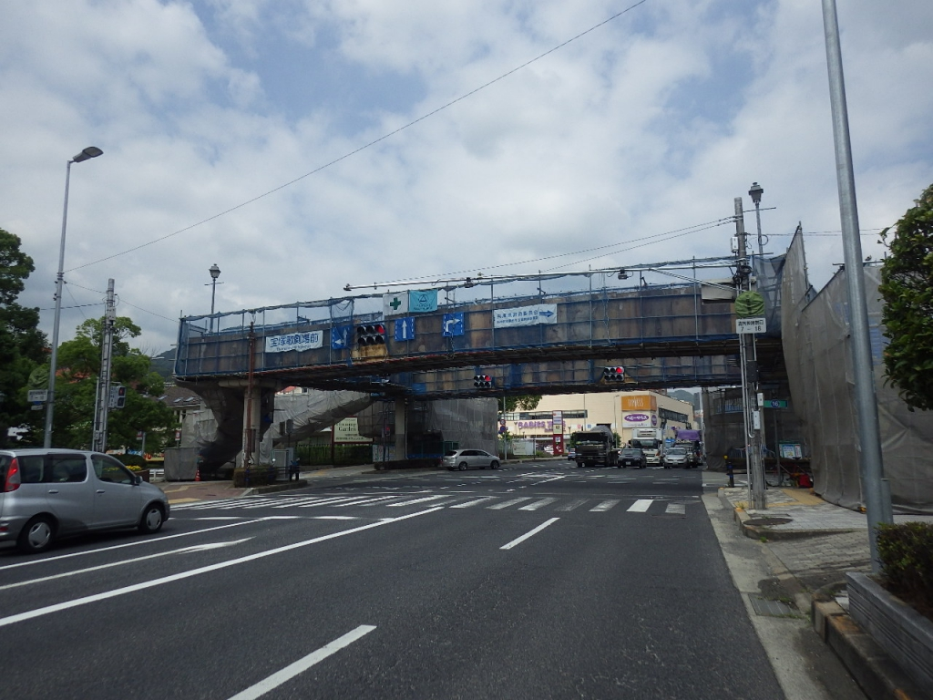 兵庫県 国道176号線歩道橋改修工事